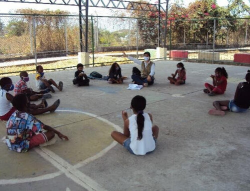 JUCONI Ecuador: Adapting community safe spaces for children to play and learn