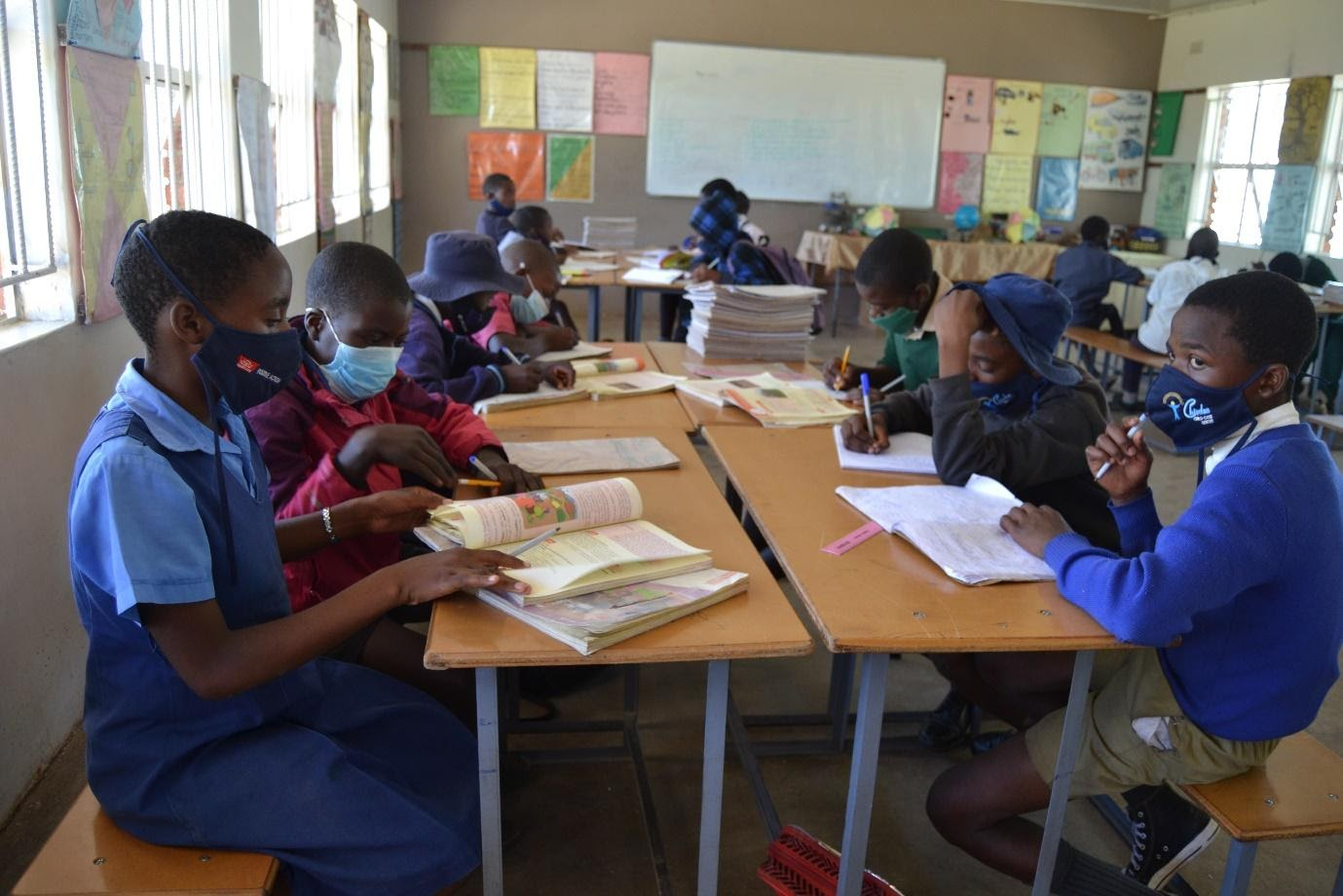 Chiedza: 'New normal' learning at the out-of-school programme in Harare