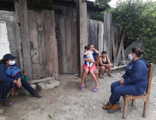 JUCONI Ecuador: Work continues and  new families join the programme in Guayaquil