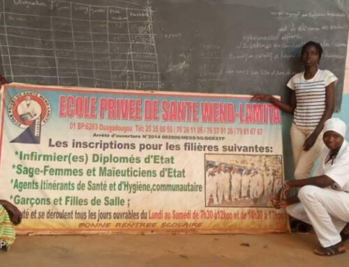 Keoogo: Therapy and training for young mothers in the Beoogo-Tienbo village in Burkina Faso